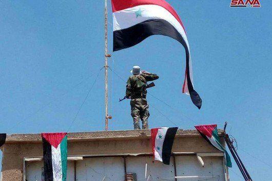 پیشروی گسترده ارتش سوریه در قنیطره