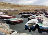 دو شناور صیادی متخلف در بندر تیس شهرستان چابهار توقیف شد